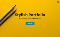 T3 Stylish Portfolio
